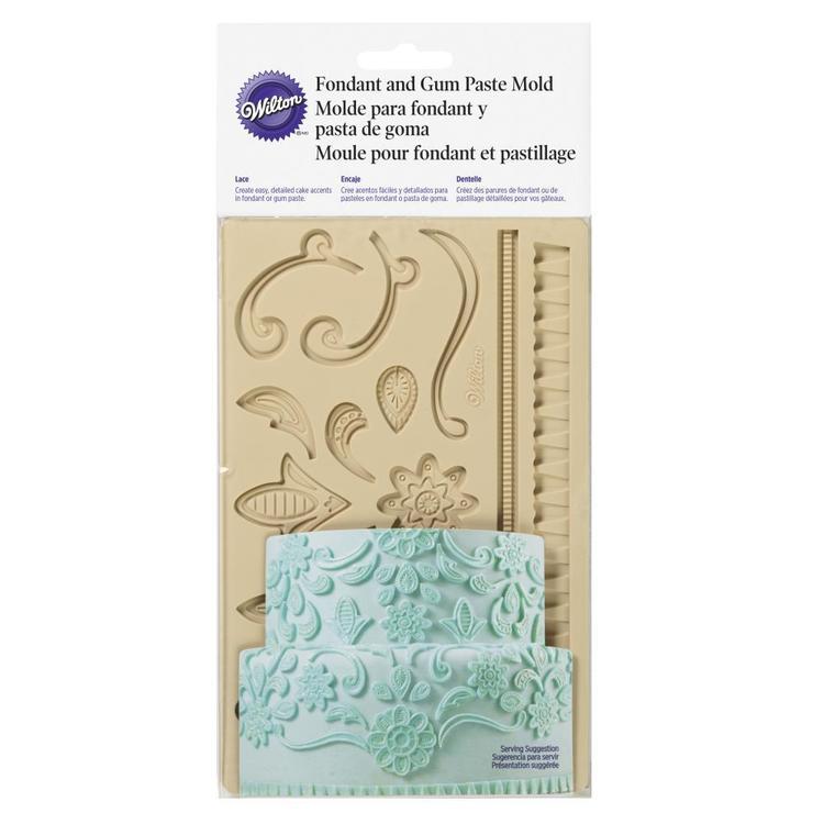 Wilton Lace Fondant And Gum Paste Mould