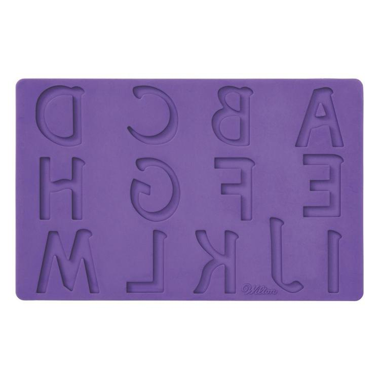 Wilton Letters and Numbers Fondant & Gum Paste Mould