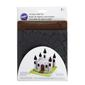 Wilton Stone and Wood Silicone Texture Mat 2 Pack Black-Brown