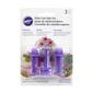 Wilton Blossom and Leaf Mini Fondant Cutters Purple