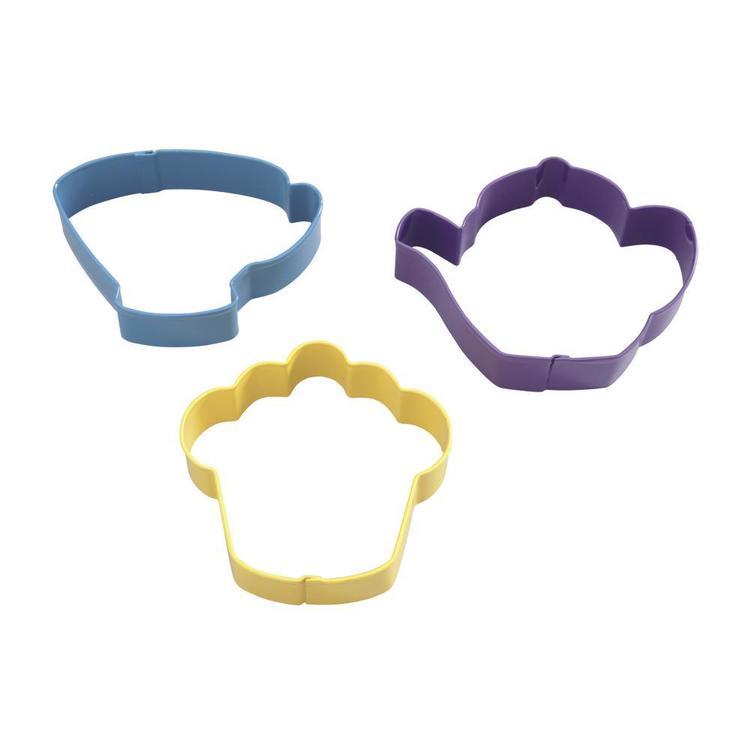 Wilton Tea Party Cookie Cutter Set 3 Piece