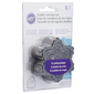 Wilton Round Double Cut-Outs Set Silver