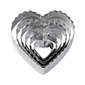 Wilton Heart Cut Outs Silver