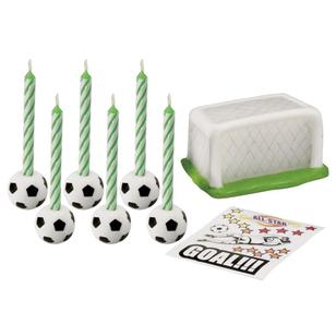 Wilton Soccer Candle Set