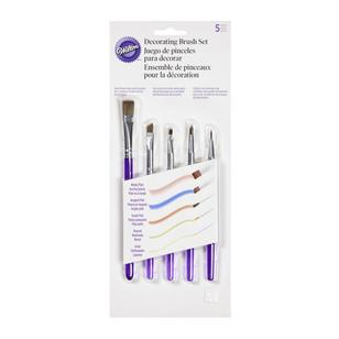 Wilton 5 Piece Decorating Brush Set