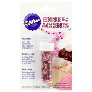 Wilton Hearts Edible Glitter