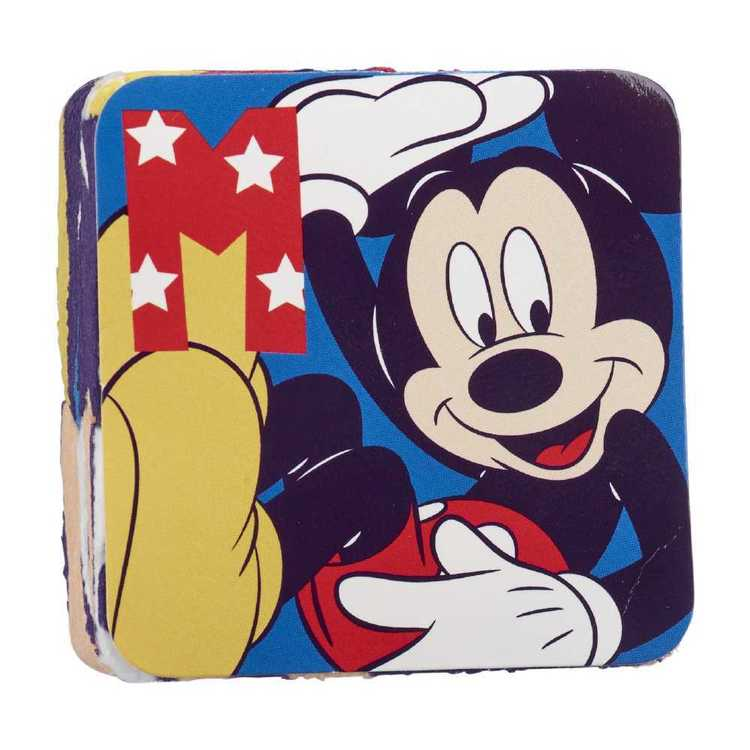 Disney Mickey Mouse Magic Face Washer Multicoloured Standard