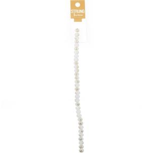 Ribtex Strung Faceted Two-Tone Crystal Beads 33 Pack
