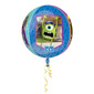 Amscan Foil Orbz Monsters Uni Balloon Multicoloured 43cmx45cm