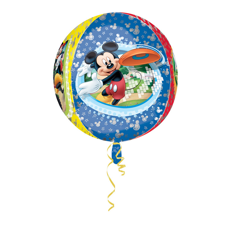 Amscan Foil Orbz Mickey Balloon Multicoloured 43cmx45cm