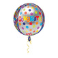 Amscan Foil Orbz Congrats Dots Balloon Multicoloured 40 cm
