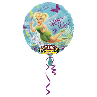 Amscan Foil Singatune Fairies Happy Birthday Balloon