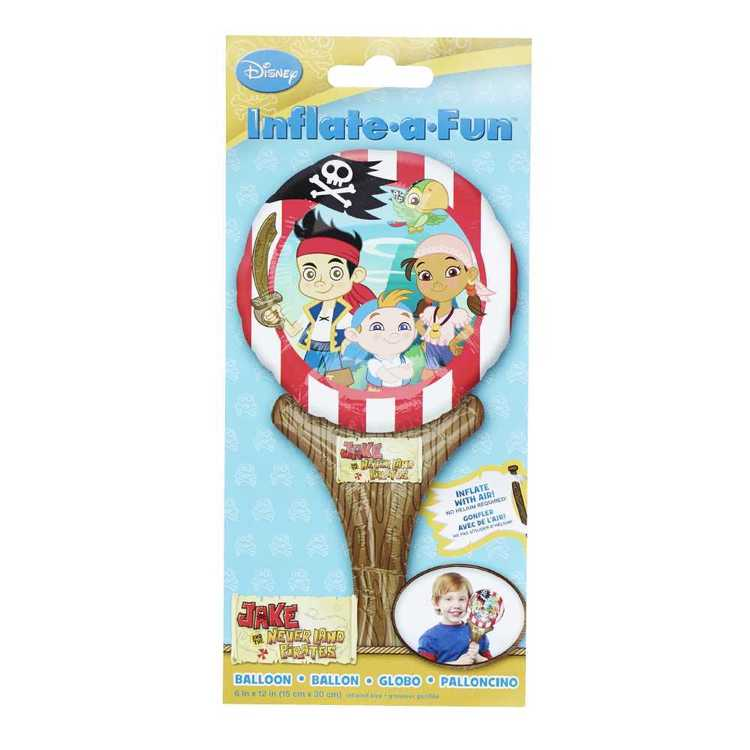 Disney Junior Jake and the Neverland Pirates Inflate-A-Fun