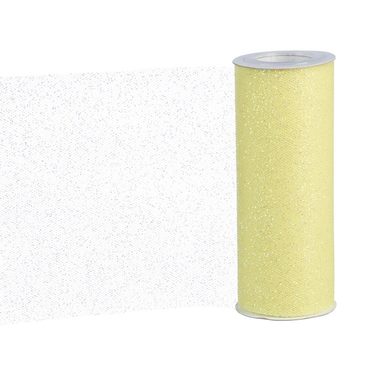 Ribtex Glitter Tulle Ribbon Roll