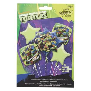 Teenage Mutant Ninja Turtles Foil Balloon Bouquet