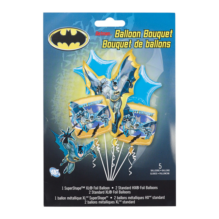 DC Comics Batman Foil Balloon Bouquet