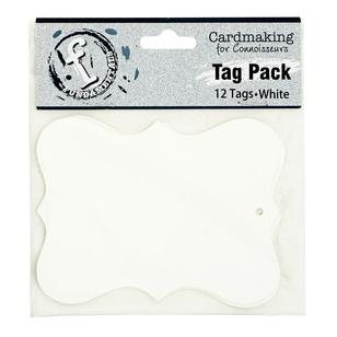 Fundamentals Scallop Tag Pack 12 Pack