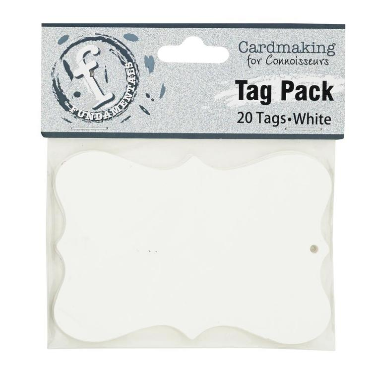 Fundamentals Scallop Tag Pack 20 Pack