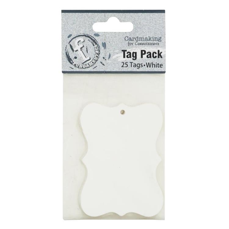 Fundamentals Scallop Tag Pack 25 Pack