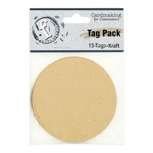 Fundamentals Circle Tag Pack 15 Pack