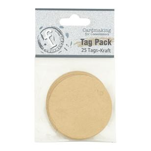 Fundamentals Circle Tag Pack 25 Pack