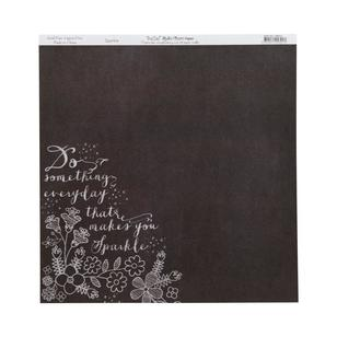 Bella! Rustic Charm Sparkle Double-Sided Cardstock