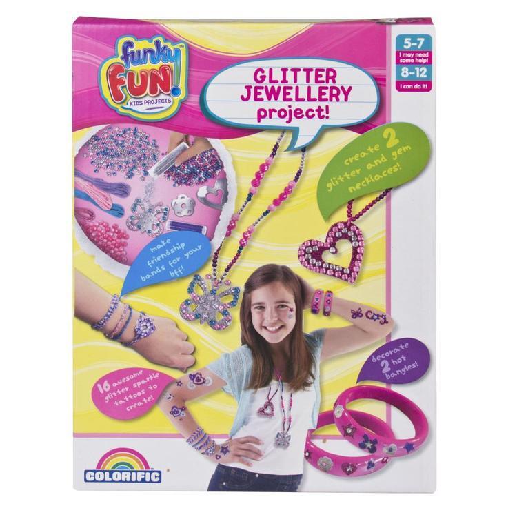 Funky Fun Glitter Jewellery Project