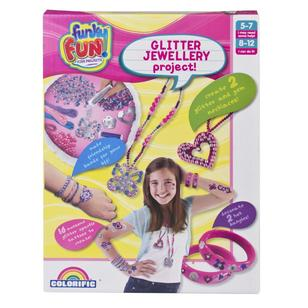 Funky Fun Glitter Jewellery Project