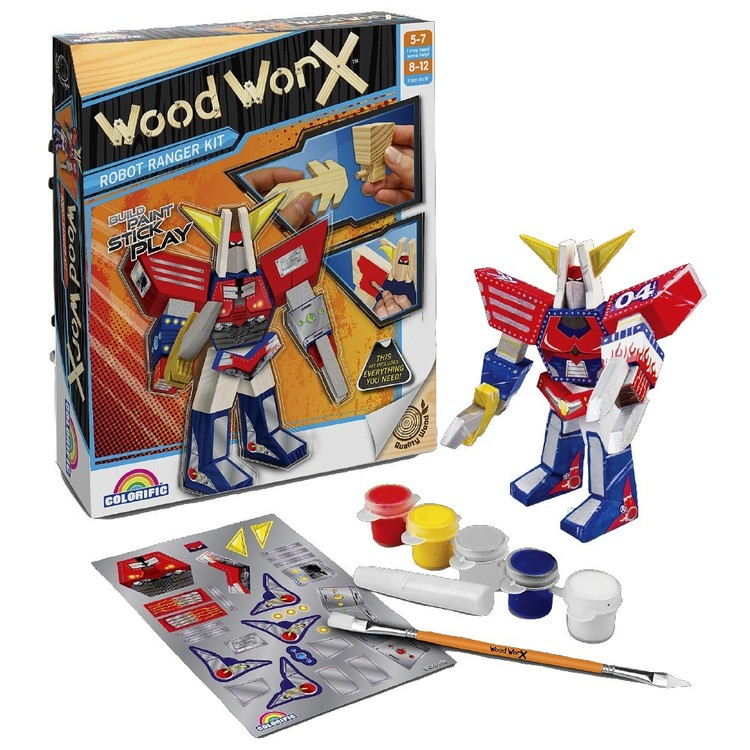 Wood WorX Robot Ranger Kit