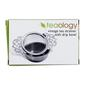 D.Line Stainless Steel Vintage Tea Strainer Grey