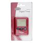 D.Line Digital Slim Timer 100 Minutes Red