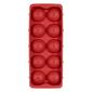 D.Line Round Ice Cube Tray Red