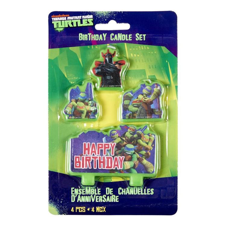 Teenage Mutant Ninja Turtles Candles Green