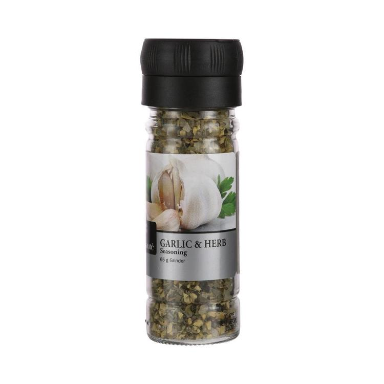 GFresh Garlic And Herb Grinder Green