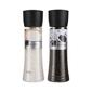 Saute Salt And Pepper Twin Pack Grinders Black
