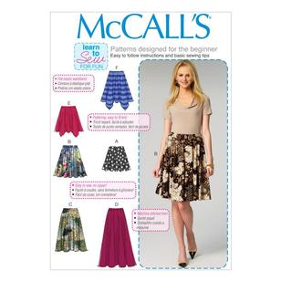 McCall's Pattern M6994 Misses' Skirts