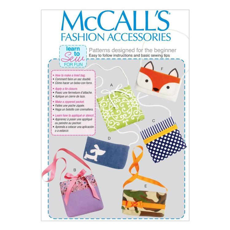 McCall'sM6997 Bags One Size