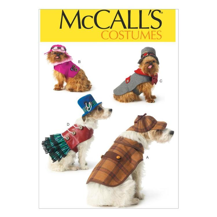 McCall's Pattern M7004 Pet Costumes One Size
