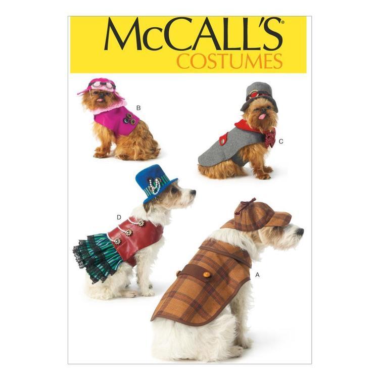 McCall's Pattern M7004 Pet Costumes