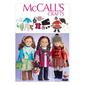 McCall's Pattern M7006 Clothes For 18