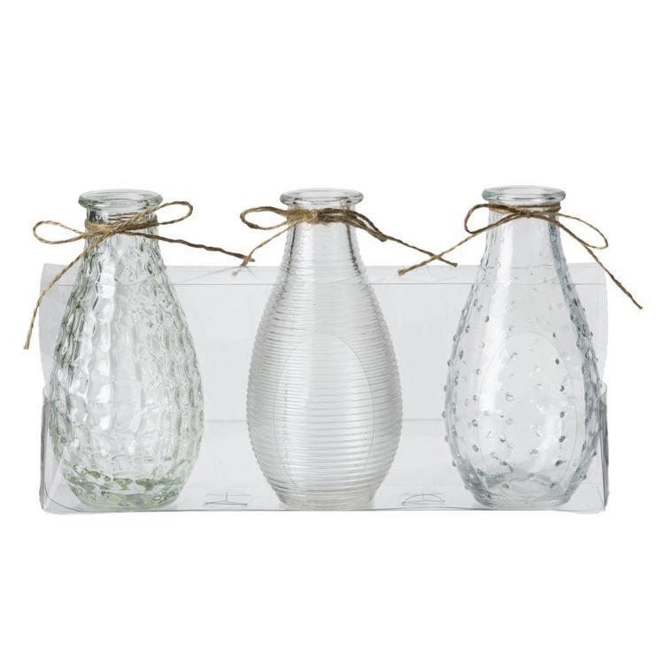 Emporium Sable Bottle Vase Set
