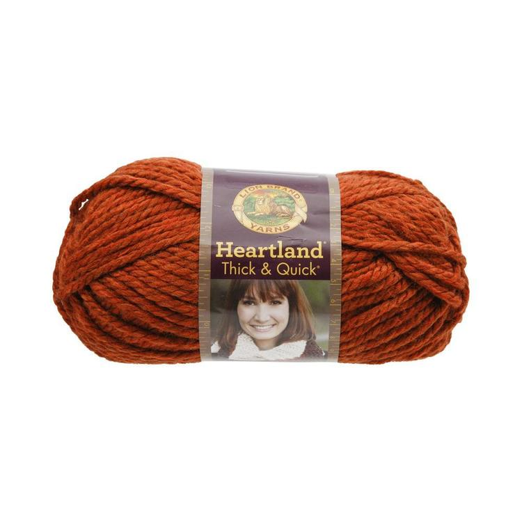 Lionbrand Heartland Thick & Quick Yarn 132 G