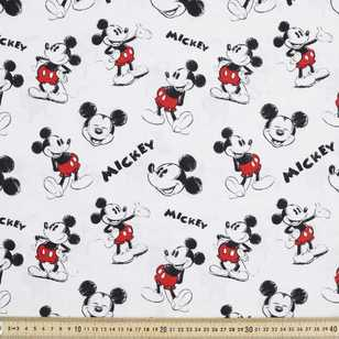 Disney Mickey Mouse Sketch Fabric