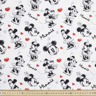 Disney Minnie Mouse Sketch Fabric