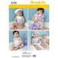 Simplicity 1378 Baby Coordinates  X Small - Large