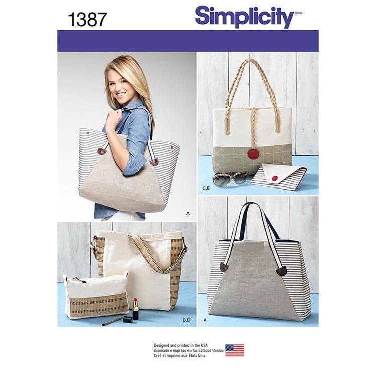 Simplicity Pattern 1387 Bag