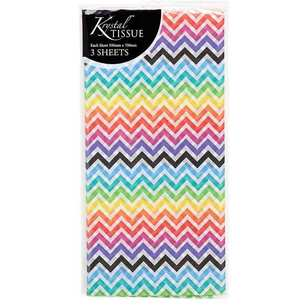 Artwrap Folded Zig Zag Tissue Paper Sheets