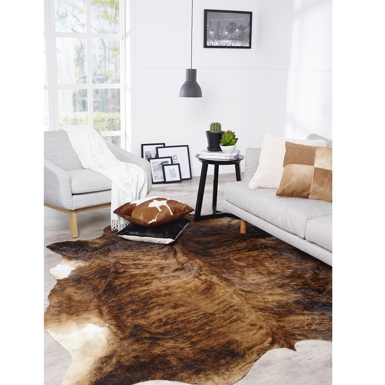 Safari Hide Rug Brown