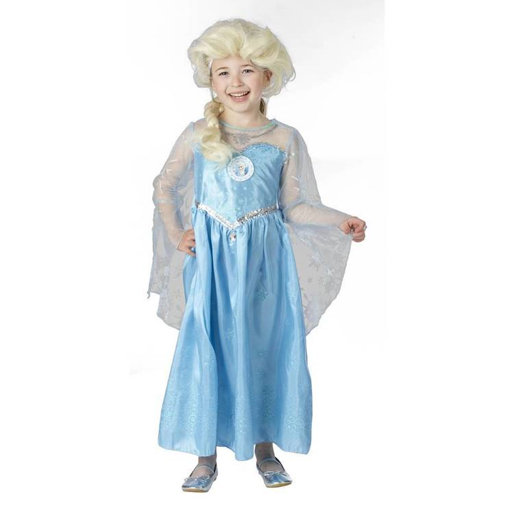 Disney Frozen Snow Queen Elsa Wig White