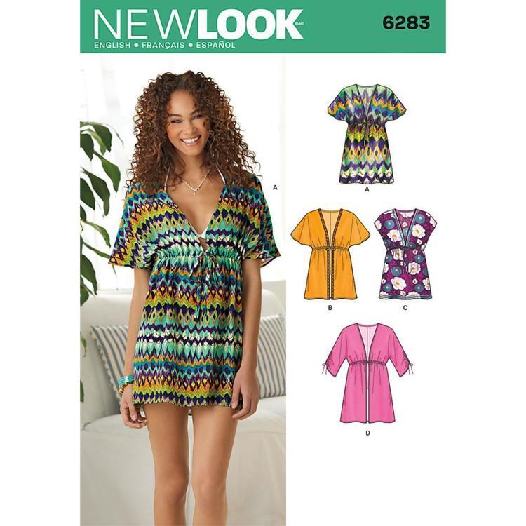 New Look Pattern 6283 Women's Dress